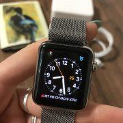 Apple Watch Series 1 Stainless steel 38 mm  250$